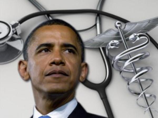 Obama Health Care - 600 x 450