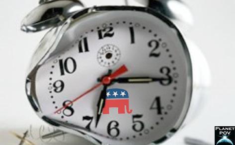 gop broken clock
