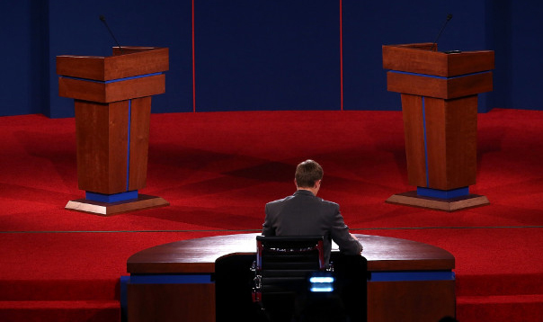 JOIN OUR LIVE CHAT TONIGHT! The 1st Presidential Debate at 6:00pm PDT