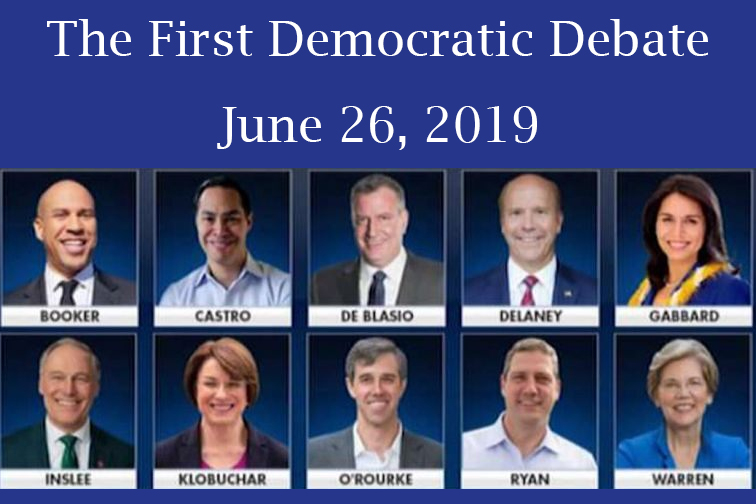 Join Our Live Chat During Tonight's Democratic Debate! 9pm EDT/6pm PDT!